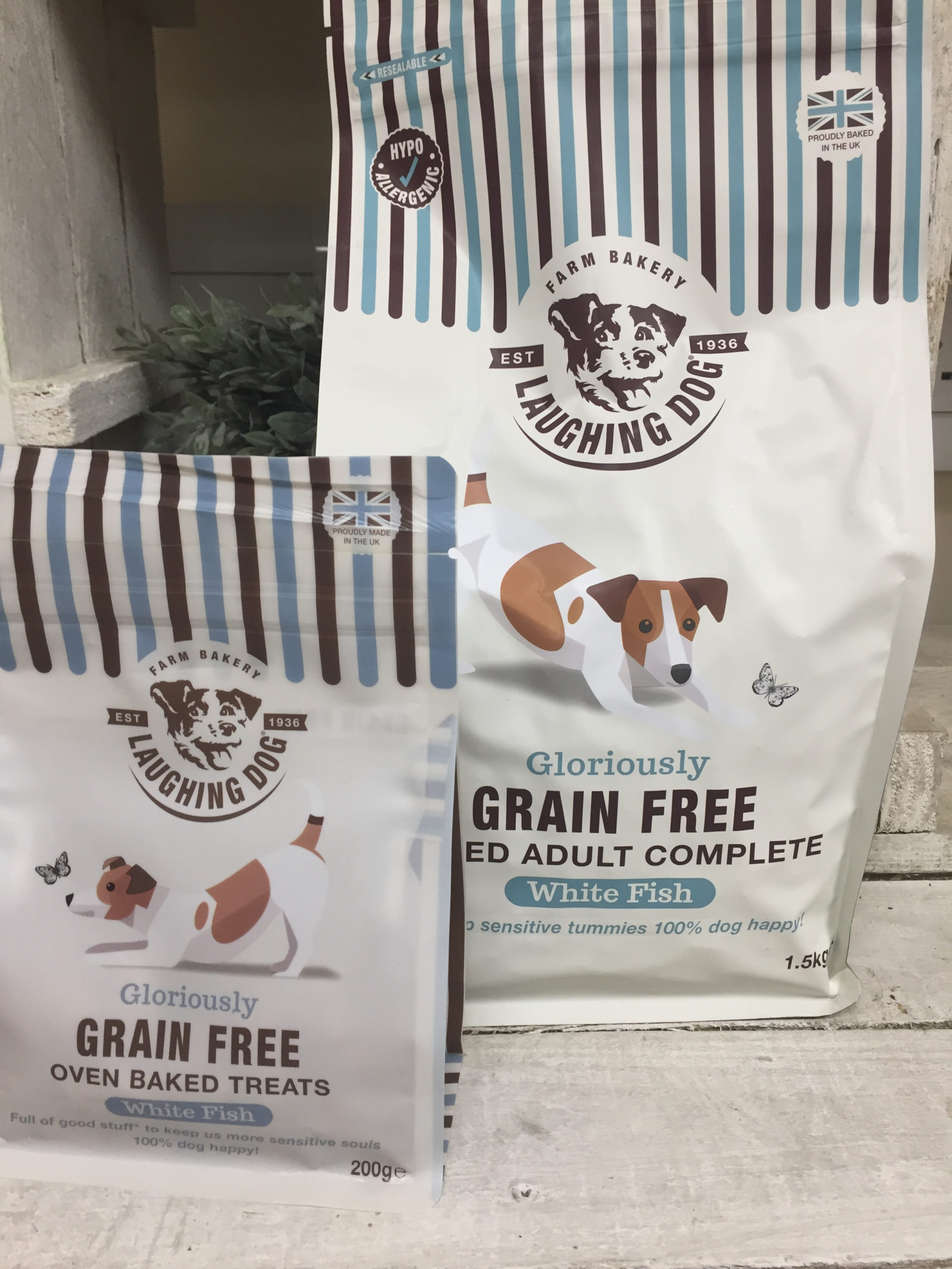 From us to you…. FREE treats! Image | Laughing Dog Food