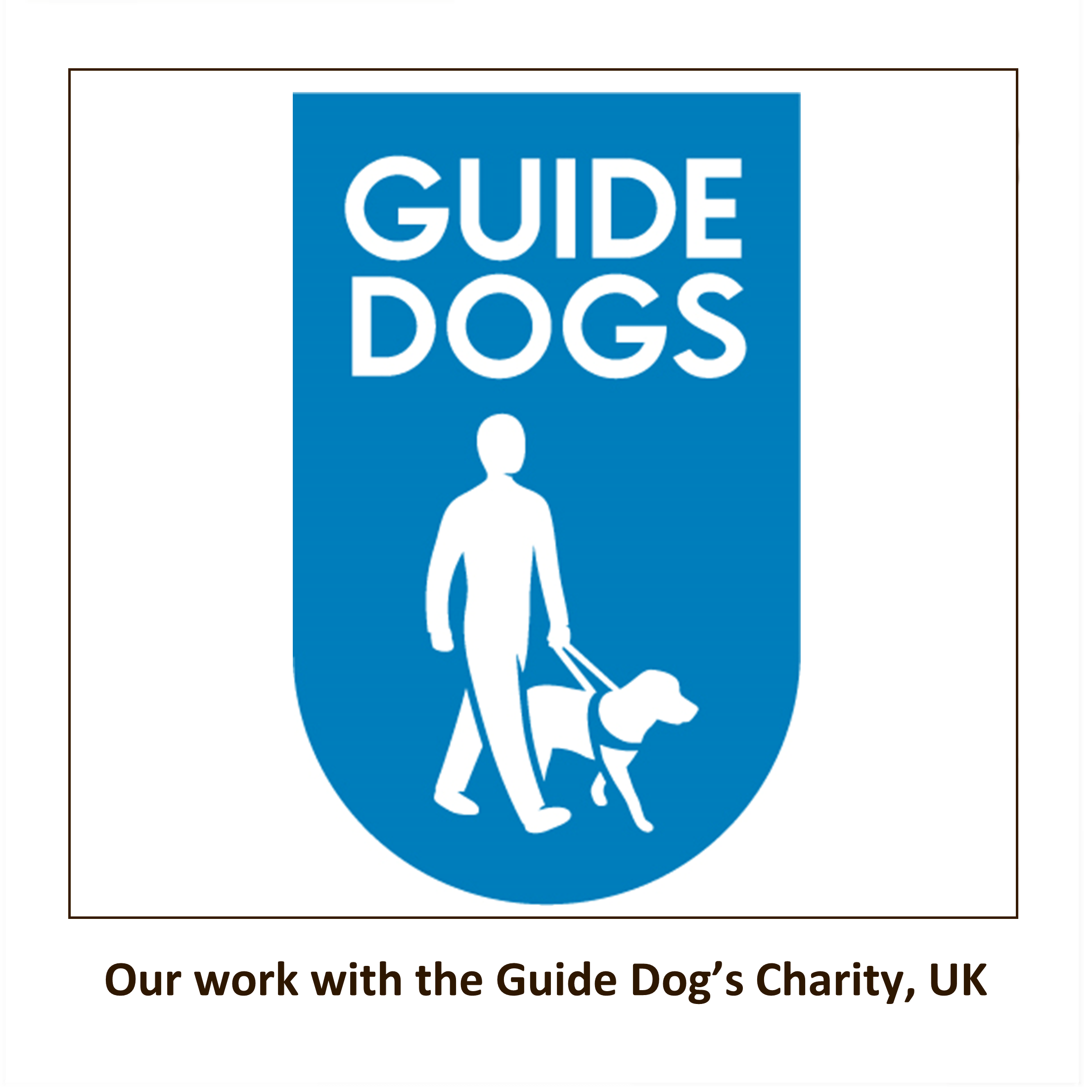 Fundraising for the Guide Dogs Image   Laughing Dog Food