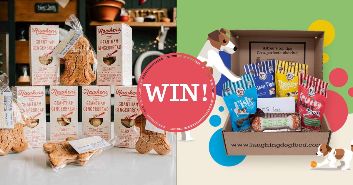 Father's Day Giveaway - treats for you and your dog! Image | Laughing Dog Food