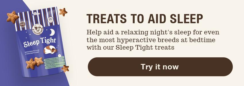Sleep treats for dogs | Laughing Dog Food