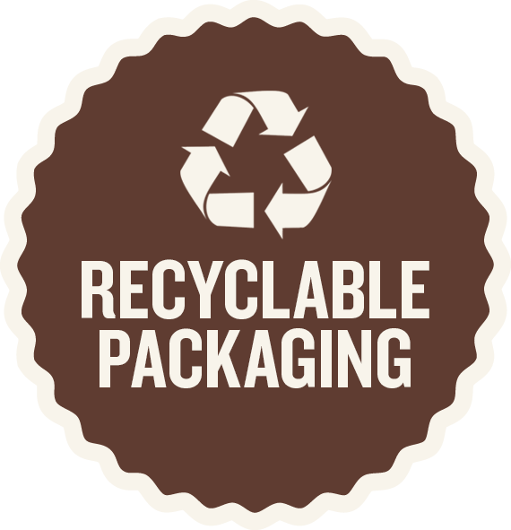 Laughing Dog Food Recyclable Packaging