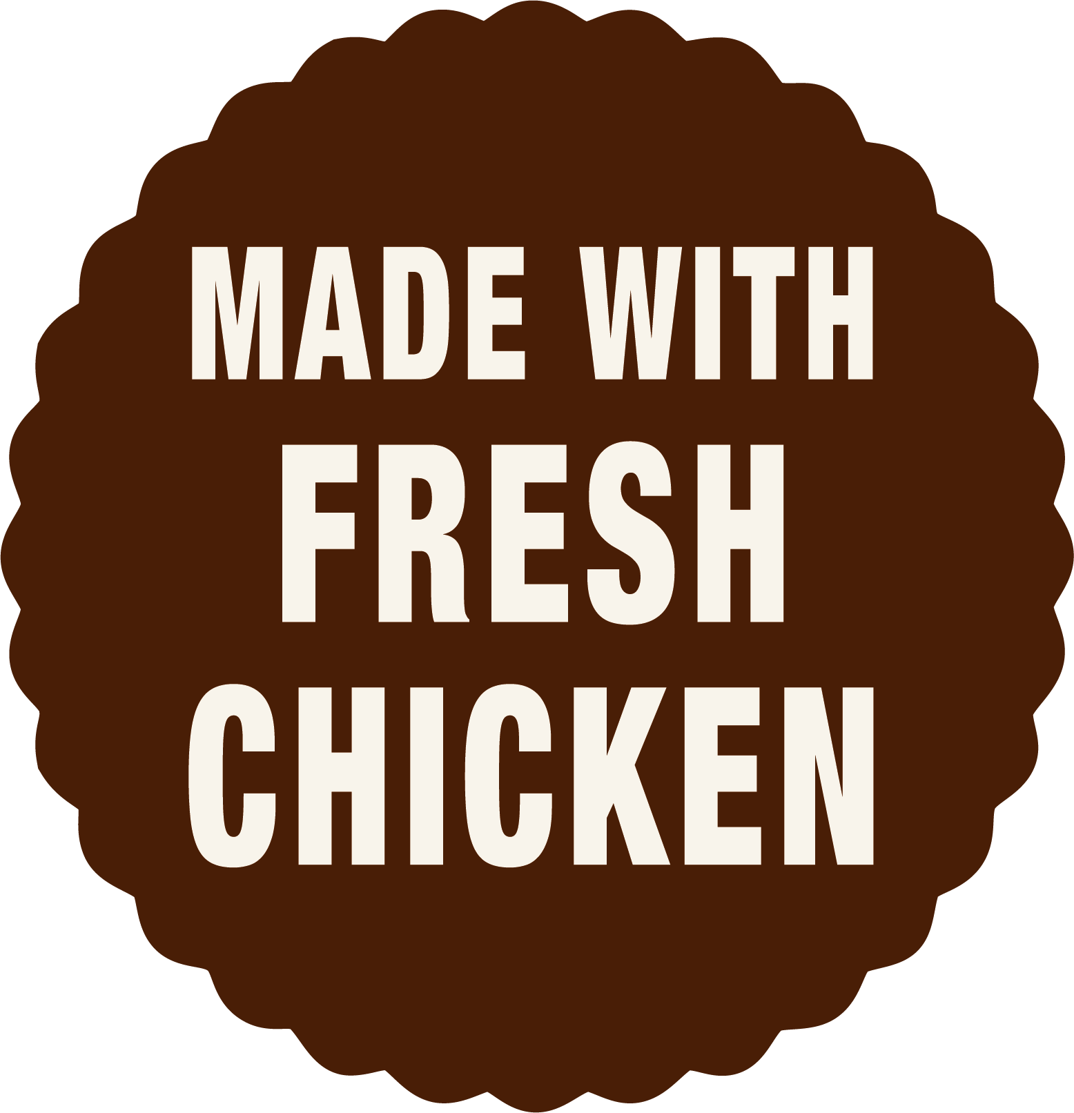 Made with fresh chicken dog food - Laughing Dog food