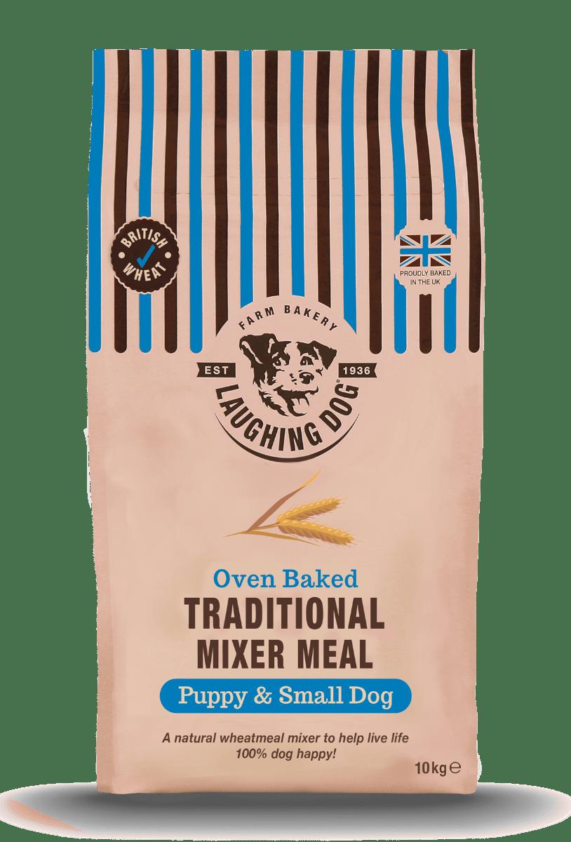 Small Dog Mixer Meal & Wet Food Bundle Image   Laughing Dog Food