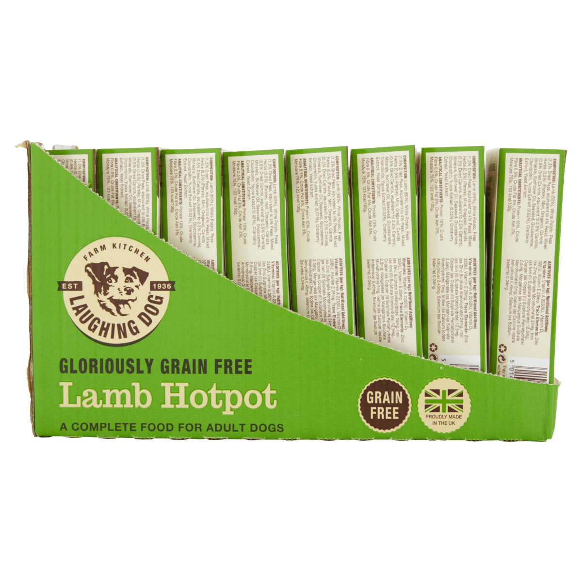 Adult Grain Free Mixer Meal & Wet Food Bundle Image | Laughing Dog Food