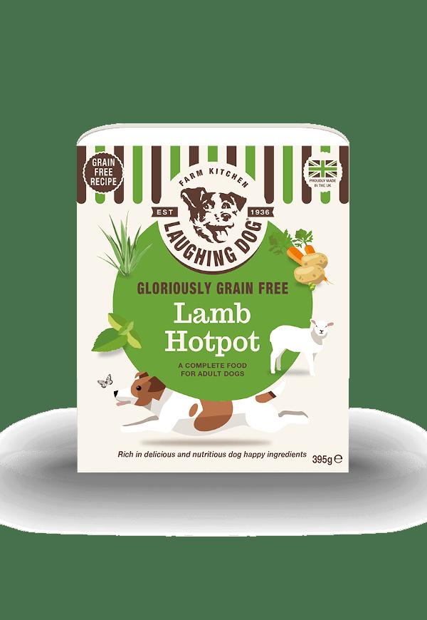 Gloriously Grain Free Lamb Hotpot Image   Laughing Dog Food