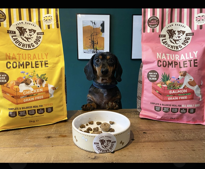 Grain Free Puppy Chicken Complete Dog Food Image | Laughing Dog Food