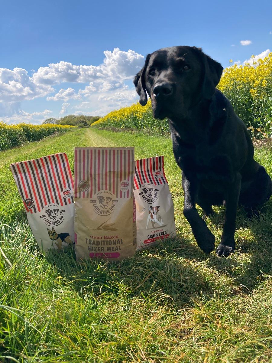 Wonderfully Wheat Free Baked Mixer Meal Image   Laughing Dog Food