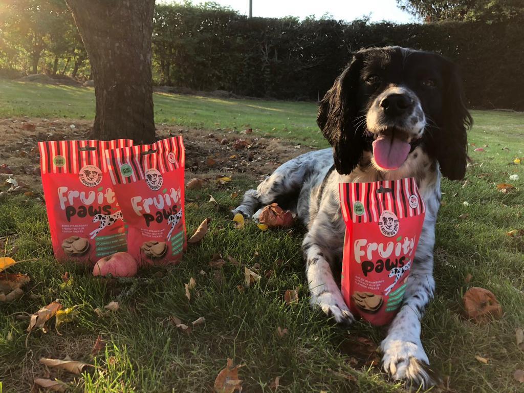 Fruity Paws Dog Treats Image   Laughing Dog Food