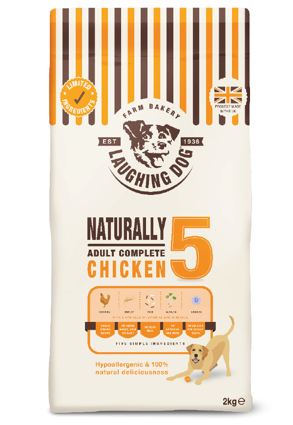 Naturally 5 Adult Complete Chicken Image | Laughing Dog Food
