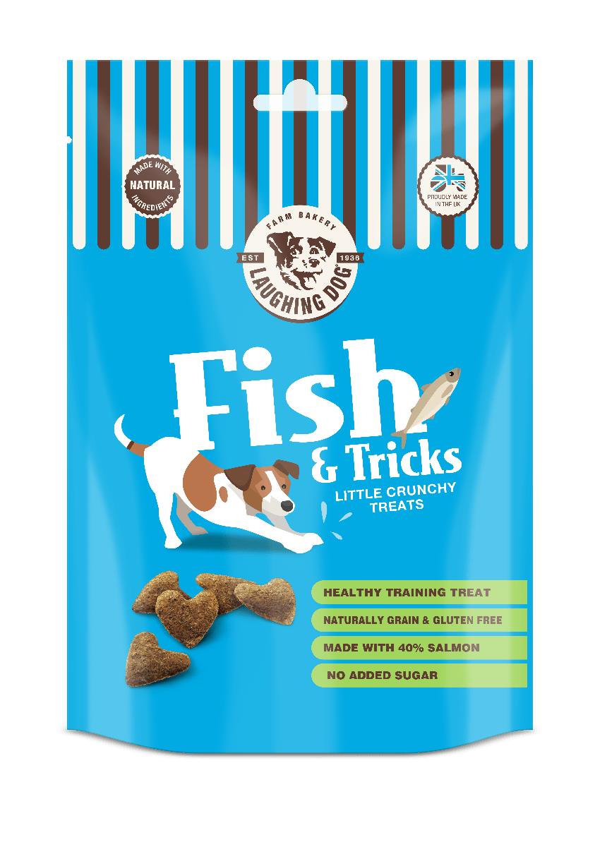 Fish N Tricks Dog Treats Image | Laughing Dog Food
