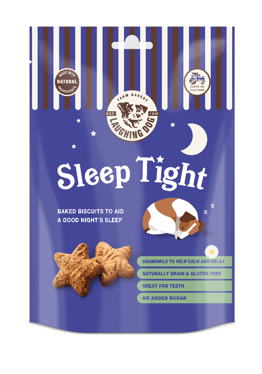 Sleep Tight Dog Treats Image | Laughing Dog Food
