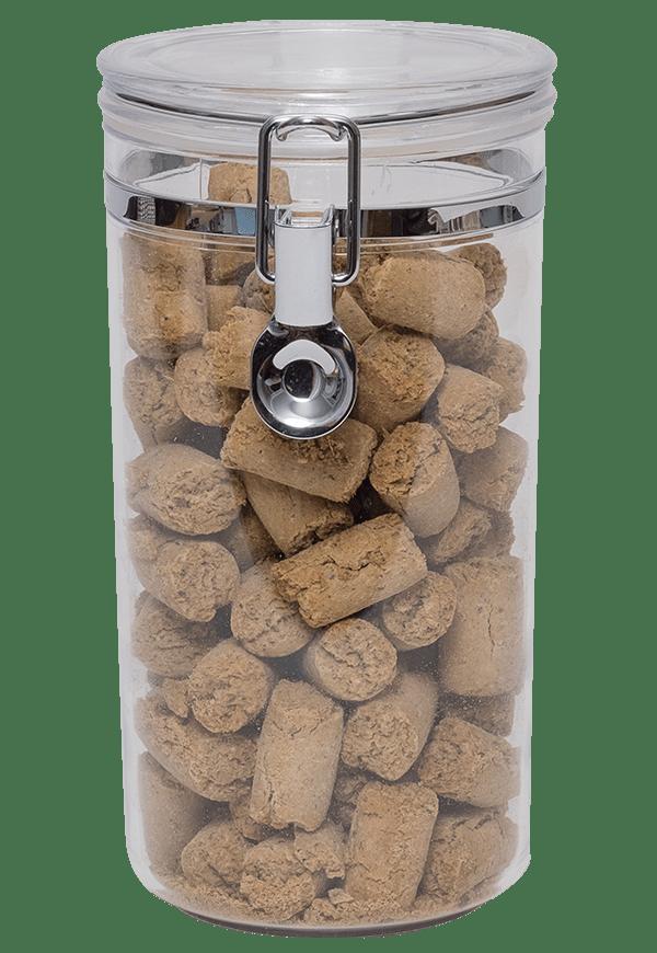 Storage Jar Image   Laughing Dog Food