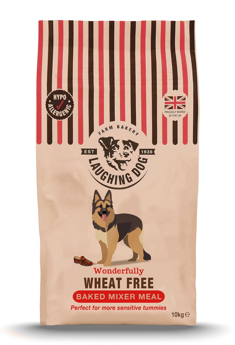 Adult Wheat Free Mixer & Wet Food Bundle Image | Laughing Dog Food